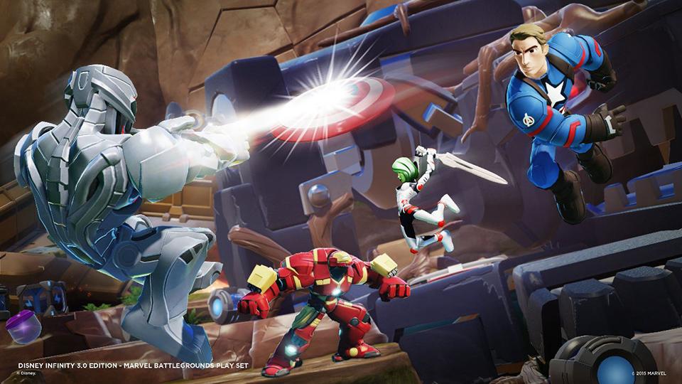 Disney Infinity 3: Marvel Battlegrounds
