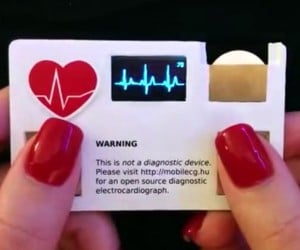 The ECG Business Card