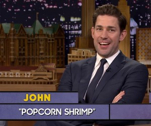 Fallon & Krasinski Play Word Sneak