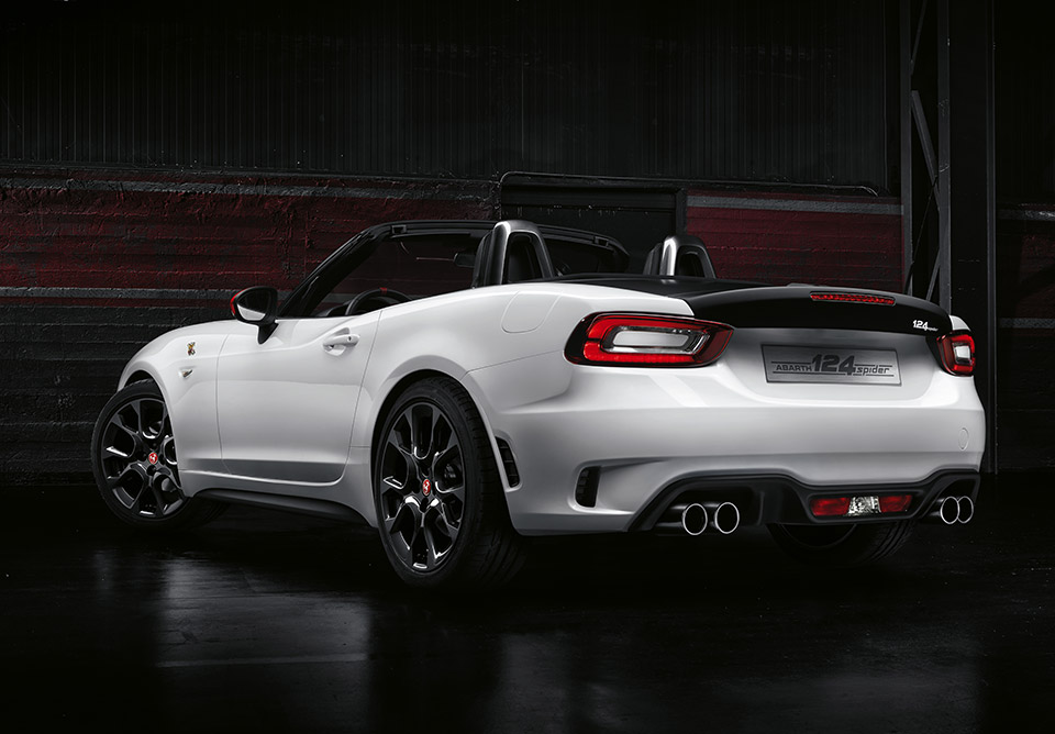 fiat abarth 124 spider the awesomer. Black Bedroom Furniture Sets. Home Design Ideas