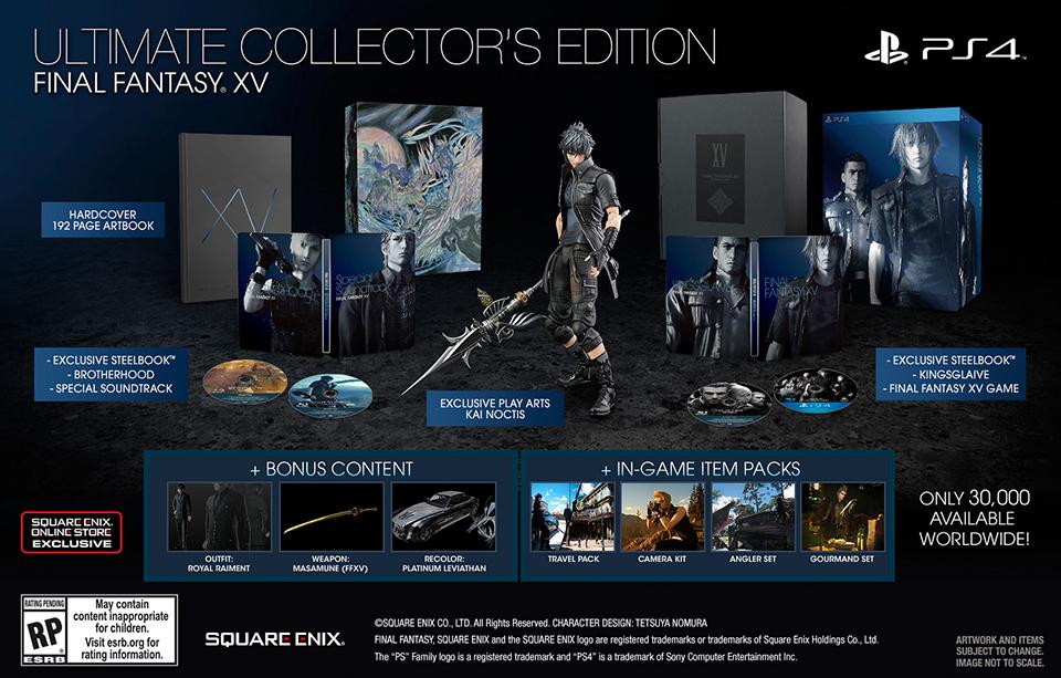 Final Fantasy XV (Trailer 4)