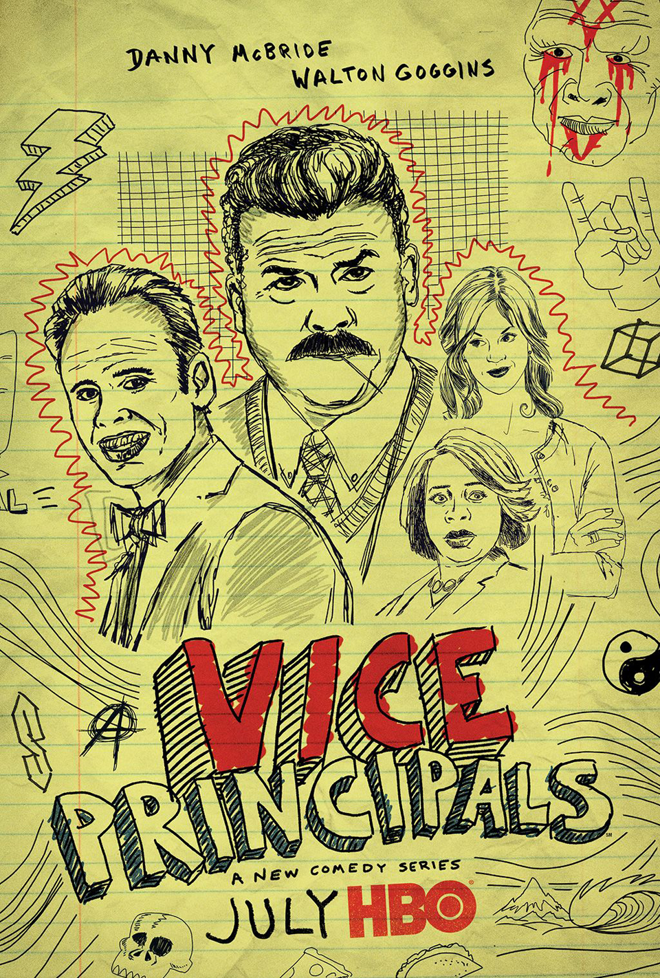 HBO: Vice Principals (Teaser)