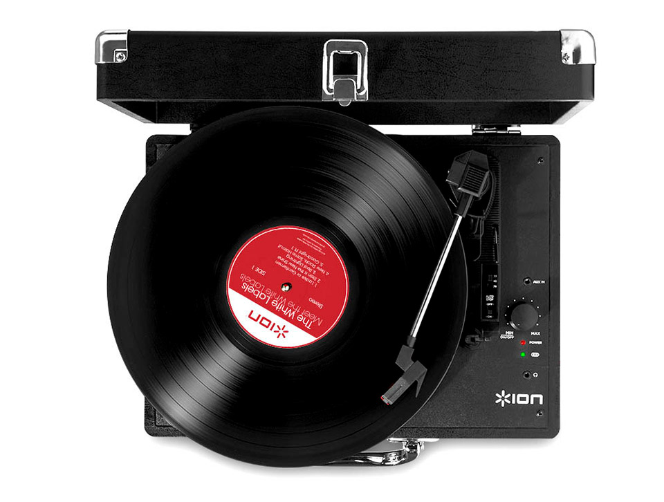 Deal: ION Vinyl Motion Turntable