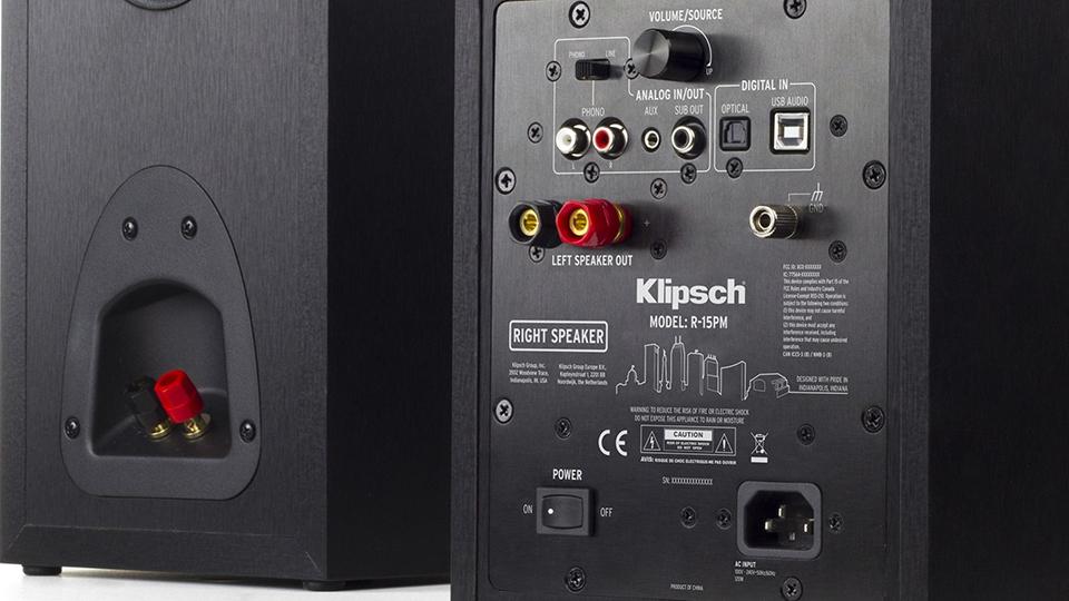 Klipsch R-15PM Stereo Monitors