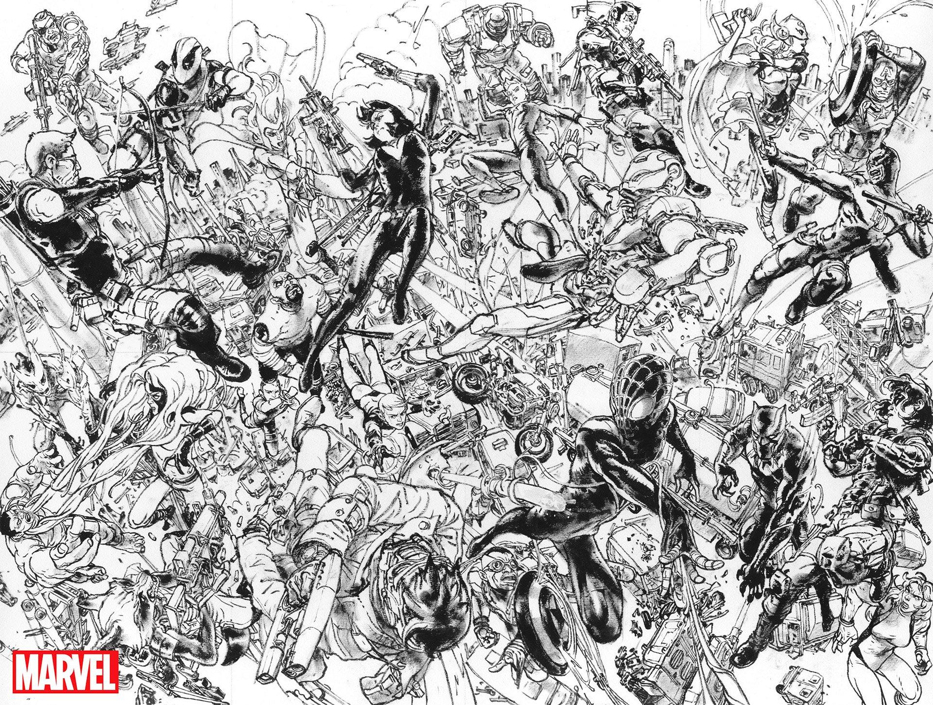 Marvel Civil War II Variant Covers