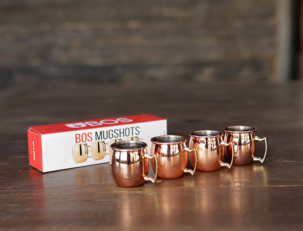 Deal: Mini Moscow Mule Shot Glasses