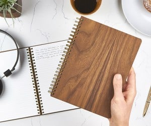 Pacific & West Wood Notebooks