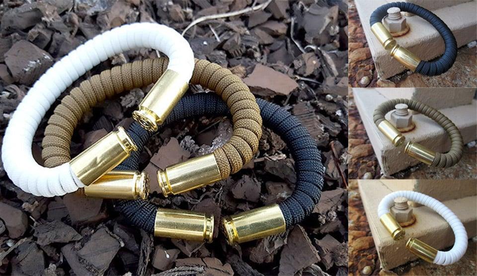 Deal: Paracord Bullet Bracelets