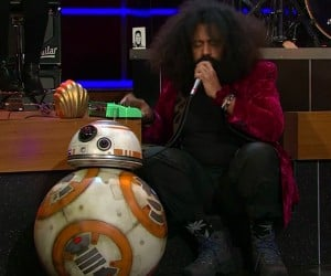 Reggie Watts Sings with BB-8