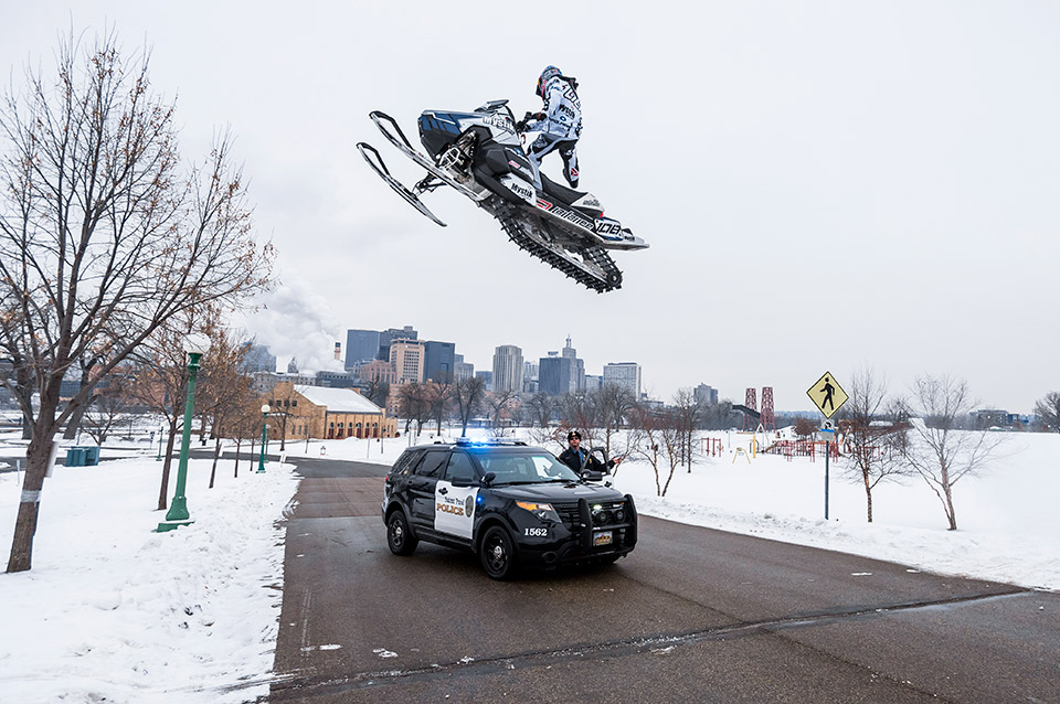 Snowmobiling St. Paul
