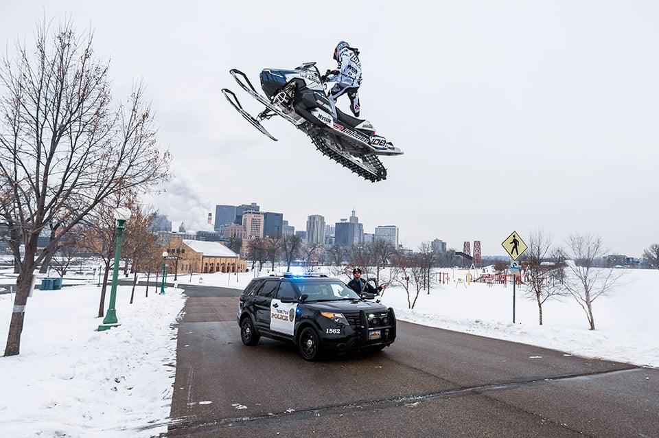 Snowmobiling St. Paul