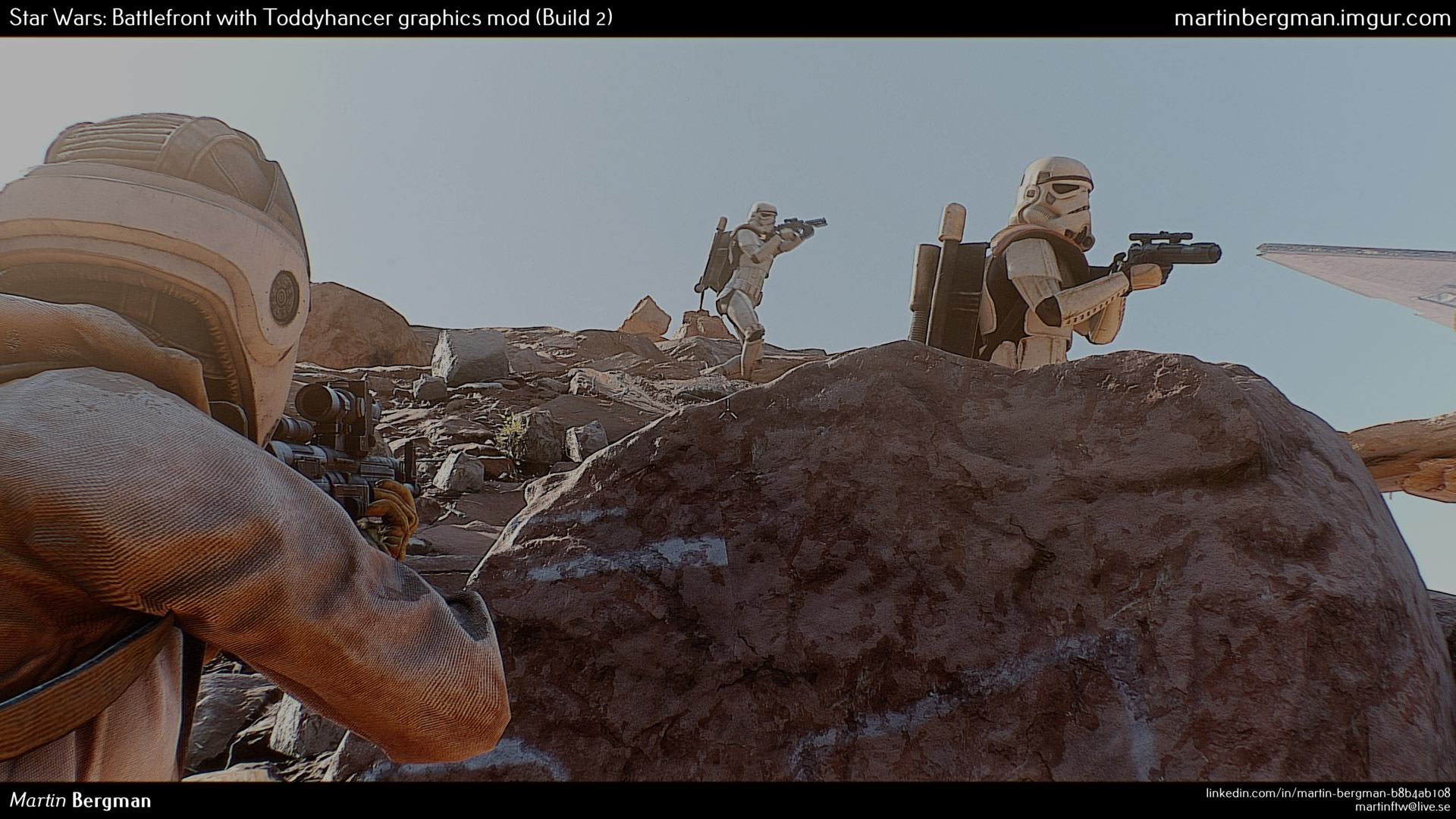 Realistic Star Wars Battlefront
