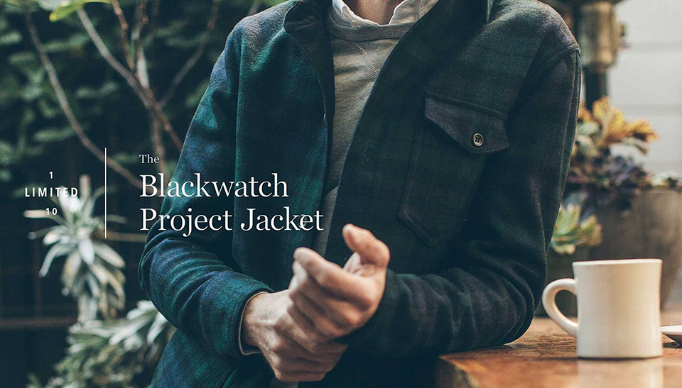 Taylor Stitch Project Jacket