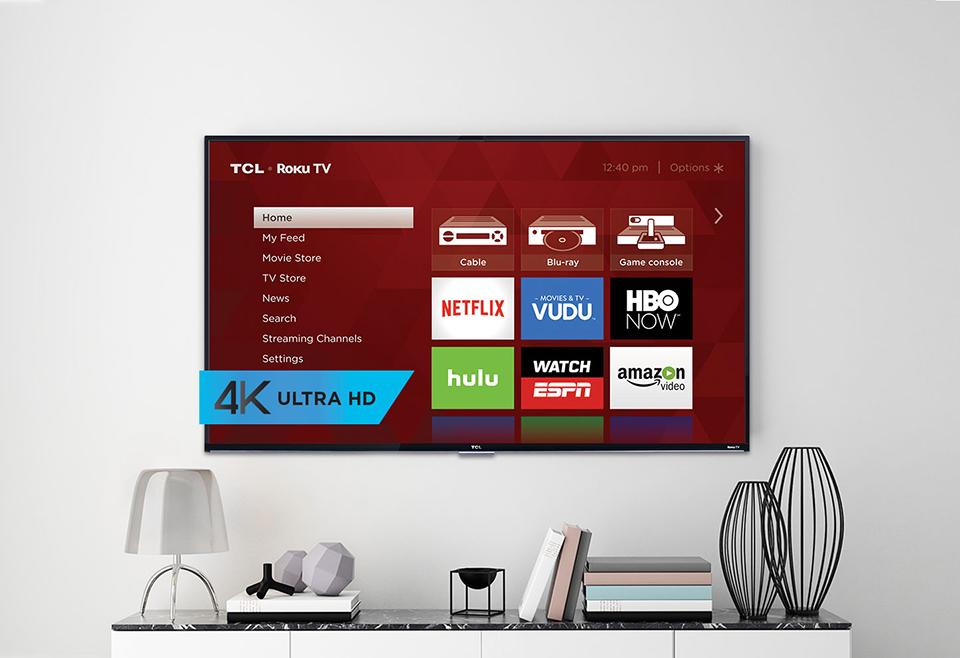 TCL Roku 4K TV