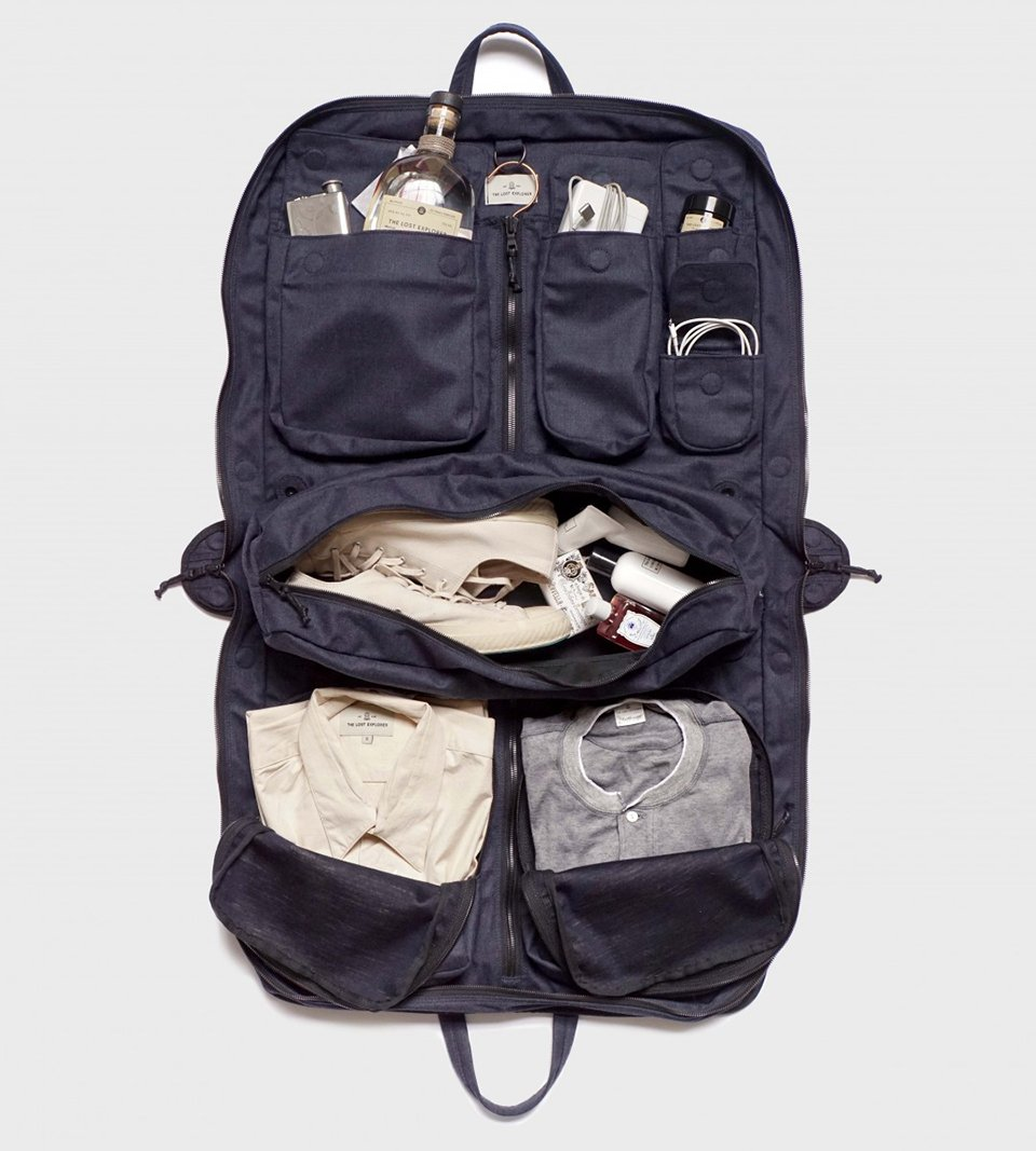 The Lost Explorer Traveler Bag