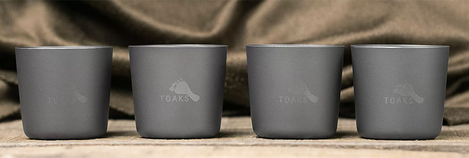 Toaks Titanium Shot Glasses