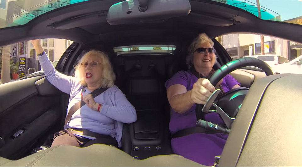 Two Grannies, One Lambo