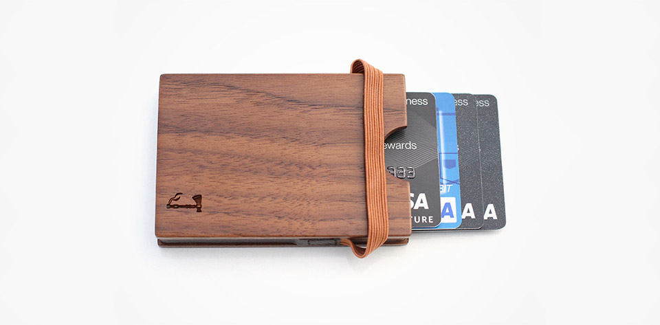 Deal: Slim Timber Wood Wallet