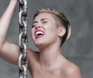 Wrecking Ball without Music