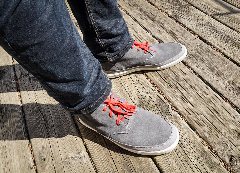 Suede Chukka Forged Rubber Boot