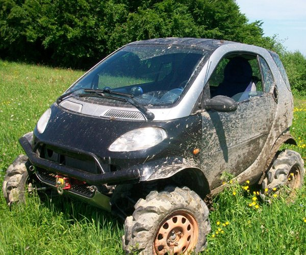 Chevy T Shirts >> Off-road Smart Fortwo