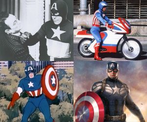 The Evolution of Captain America
