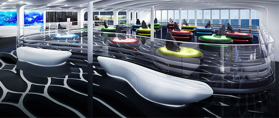 Cruise Ship Go Kart Track