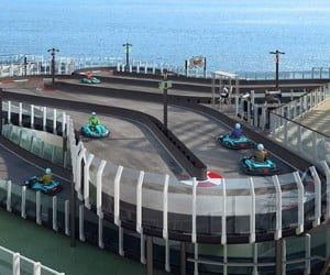 Cruise Ship Go Kart Track