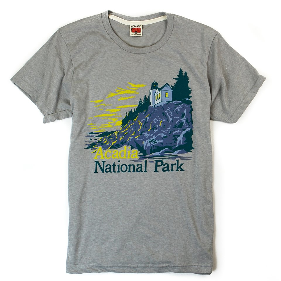Homage x Huckberry Nat'l Park Tees