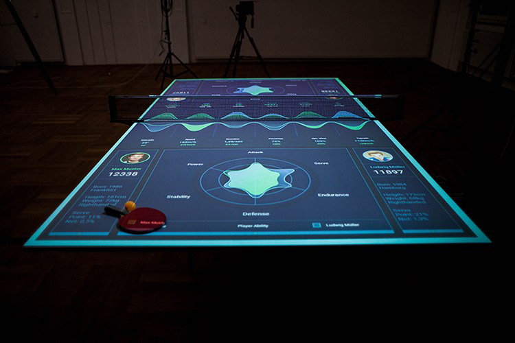 Table Tennis Trainer Concept