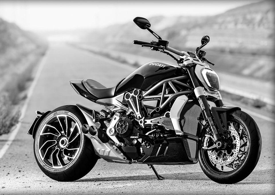 Leno Rides the Ducati XDiavel S