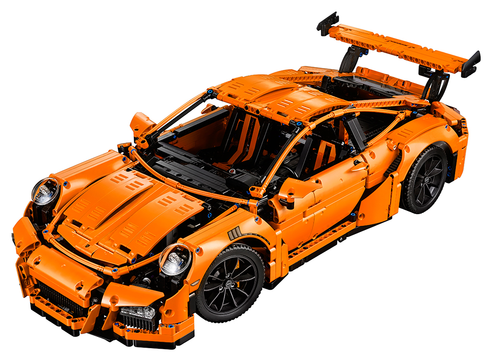 lego technic porsche 911 gt3 rs the awesomer. Black Bedroom Furniture Sets. Home Design Ideas