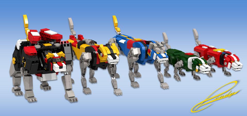 LEGO Voltron Concept