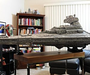 Massive LEGO Star Destroyer