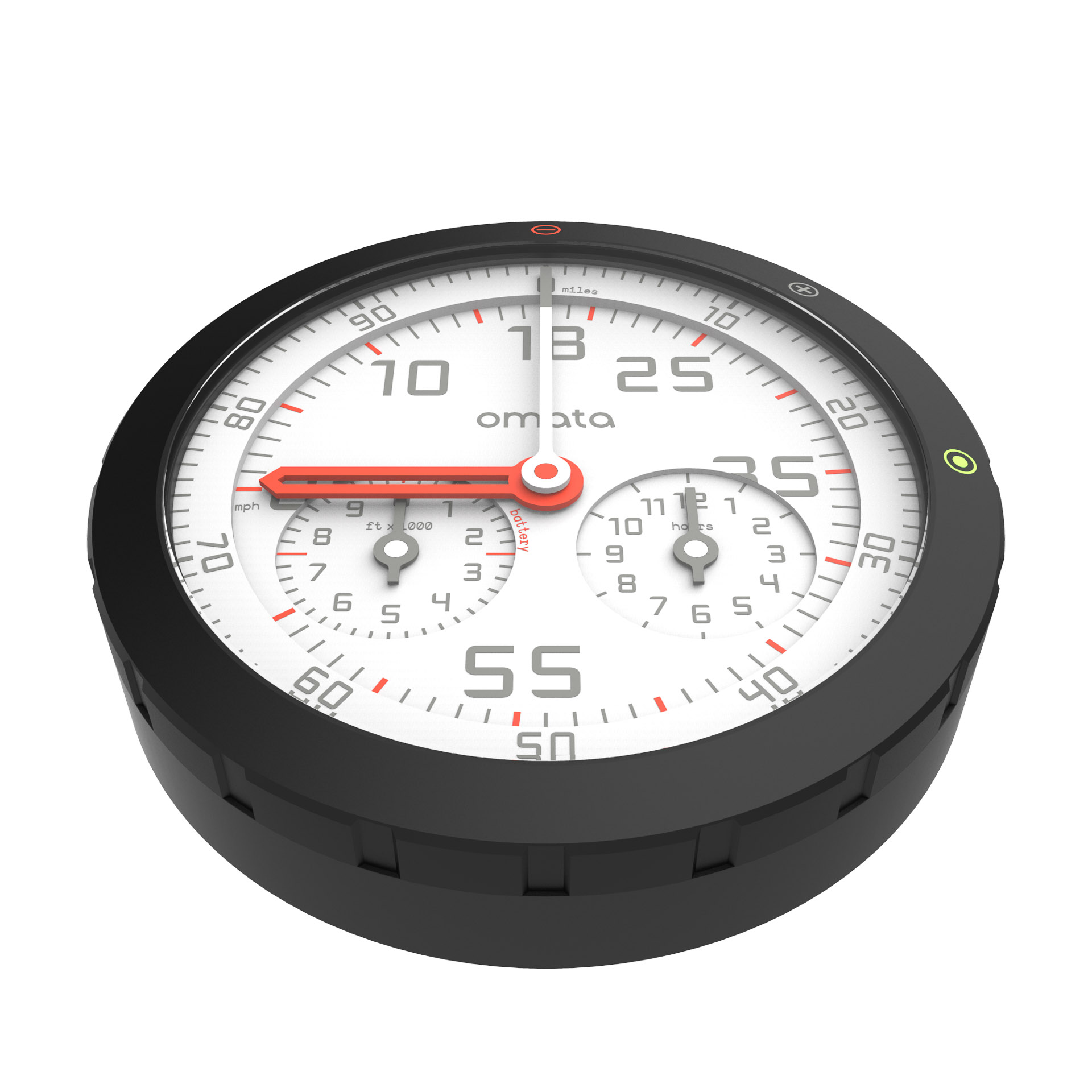 OMATA One Analog GPS Speedometer