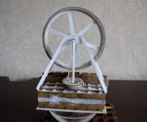 Paper Stirling Engine