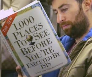 Reading Fake Books on the Subway