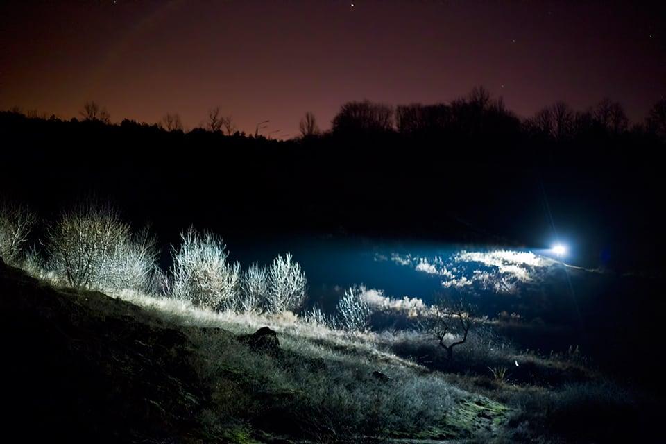Repulsor Wearable Flashlights