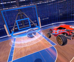 Rocket League: Hoops Mode