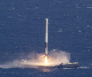 SpaceX Falcon 9 Ocean Landing