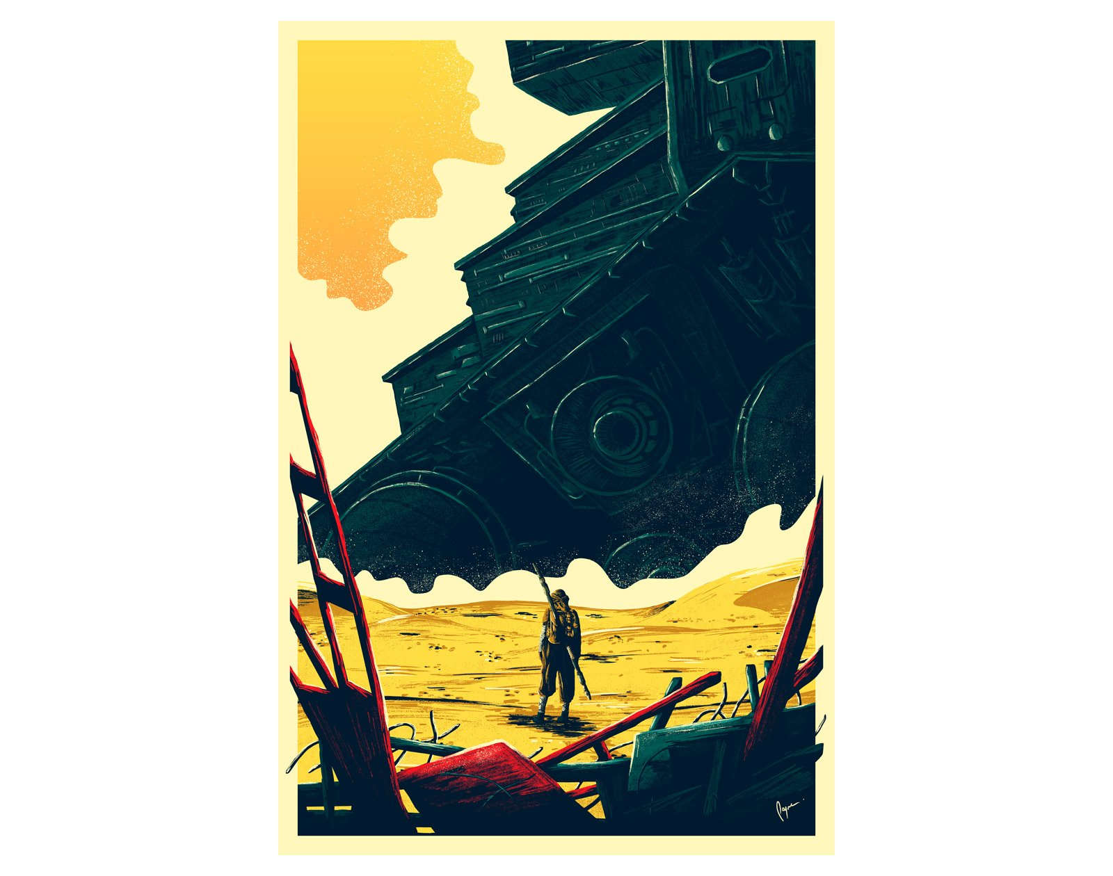 Deal: Star Wars Scavenger Poster