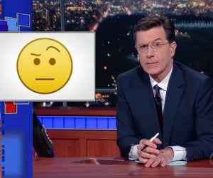 The Colbert Emoji