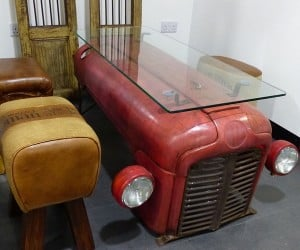 Tractor Coffee Table
