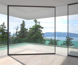 Cornering Sliding Glass Doors