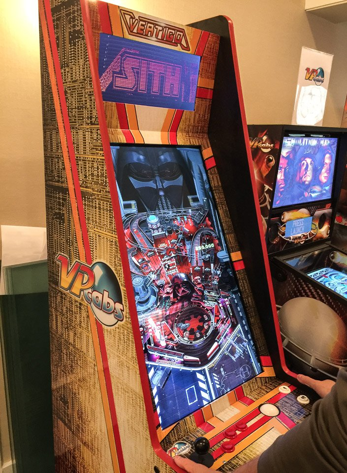 Vertigo Virtual Pinball/Arcade Cabinet - The Awesomer