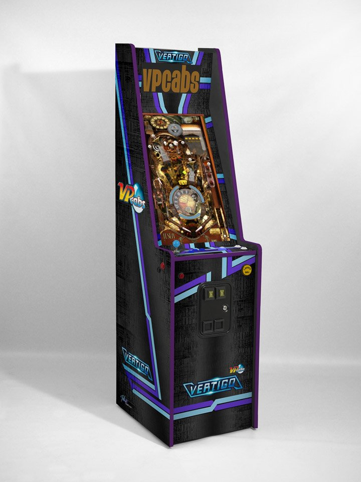 Vertigo Virtual Pinball Arcade Cabinet The Awesomer