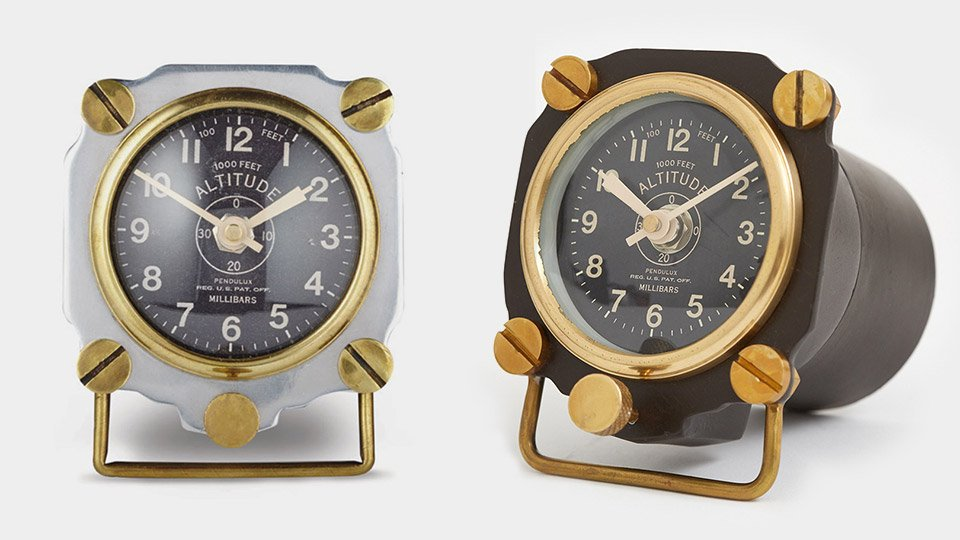 Altimeter Table Clocks