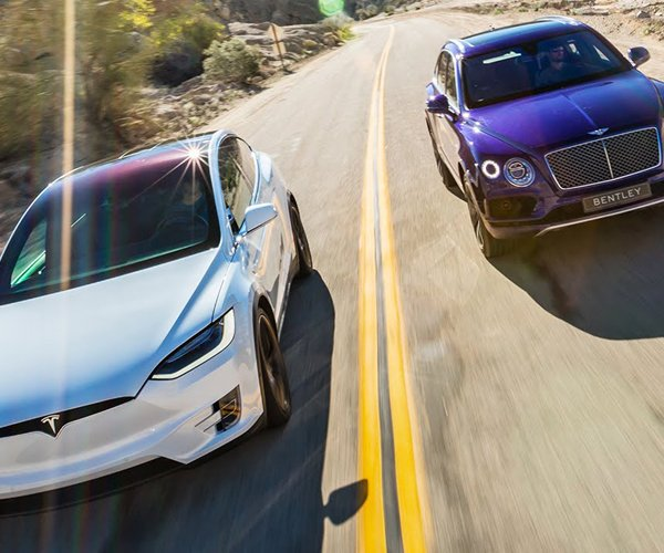 Bentley Bentayga vs. Tesla Model X
