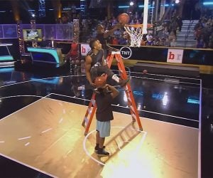 Between the Legs Double Dunk