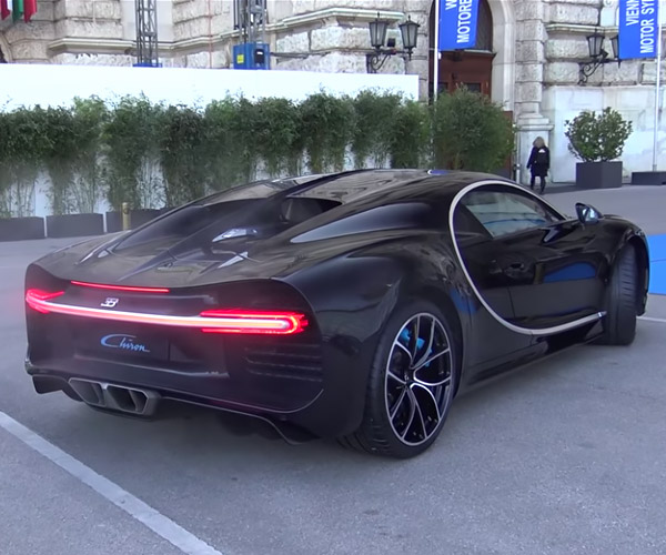 Bugatti Chiron Sounds off